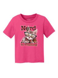 Kids Nerd in Training Short-Sleeve T-Shirt