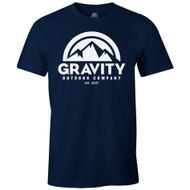 Gravity Outdoor Co. Mens AA USA Made Short-Sleeve T-Shirt