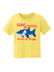 Toddlers Surf & Sand Sun & Fun Short-Sleeve T-Shirt