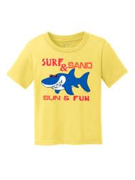 Toddlers Surf & Sand Sun & Fun Short-Sleeve T-Shirt
