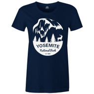 Gravity Outdoor Co. Yosemite Womens AA USA Made Short-Sleeve T-Shirt