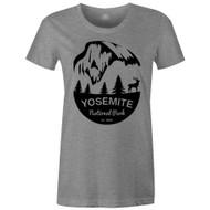 Gravity Outdoor Co. Yosemite Womens AA USA Made Short-Sleeve T-Shirt