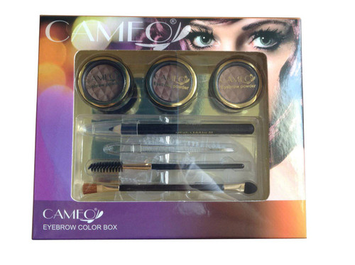 Cameo Perfect Brow Makeup Natural Eyebrow Color Box