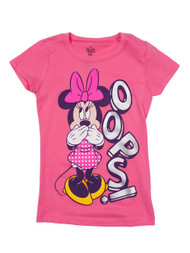 Minnie Mouse Oops Toddler's Pink T-Shirt