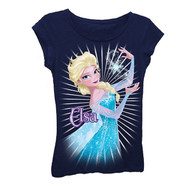Disney's Frozen Elsa with Snow Little Girls Shirt