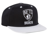Brooklyn Nets NBA Adidas Adjustable Snapback Hat + Includes GT Sweat Wristband