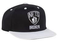 Brooklyn Nets NBA Adidas Adjustable Snapback Hat + Includes GT Sweat Wristband