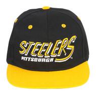 NFL Pittsburgh Steelers Flatbill 2 Tone Snapback Hat
