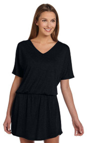 Bella - Ladies' Flowy Blousy V-Neck Dress