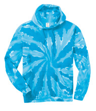 Gravity Threads Mens Tie-Dye Pullover Hoodie Sweater