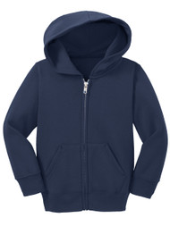Gravity Threads Toddler Fleece Zip-Up Hoodie Sweater