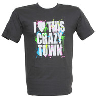 I Heart This Crazy Town Graphic T Shirt