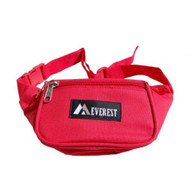Fabric Waist Pack Many Colors! (Red Regular)
