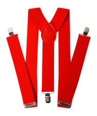 Basic RED Elastic Suspender