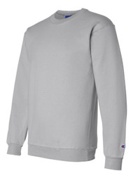 Champion Adult 50/50 Crewneck Sweatshirt, Ash