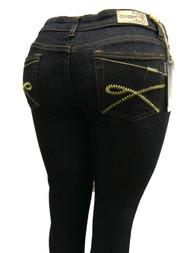 Women's Omega Skinny Stretch Jeans- X Loop Golden 3