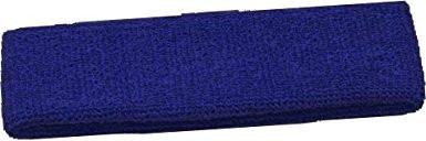 Terry Cloth Headband, Navy