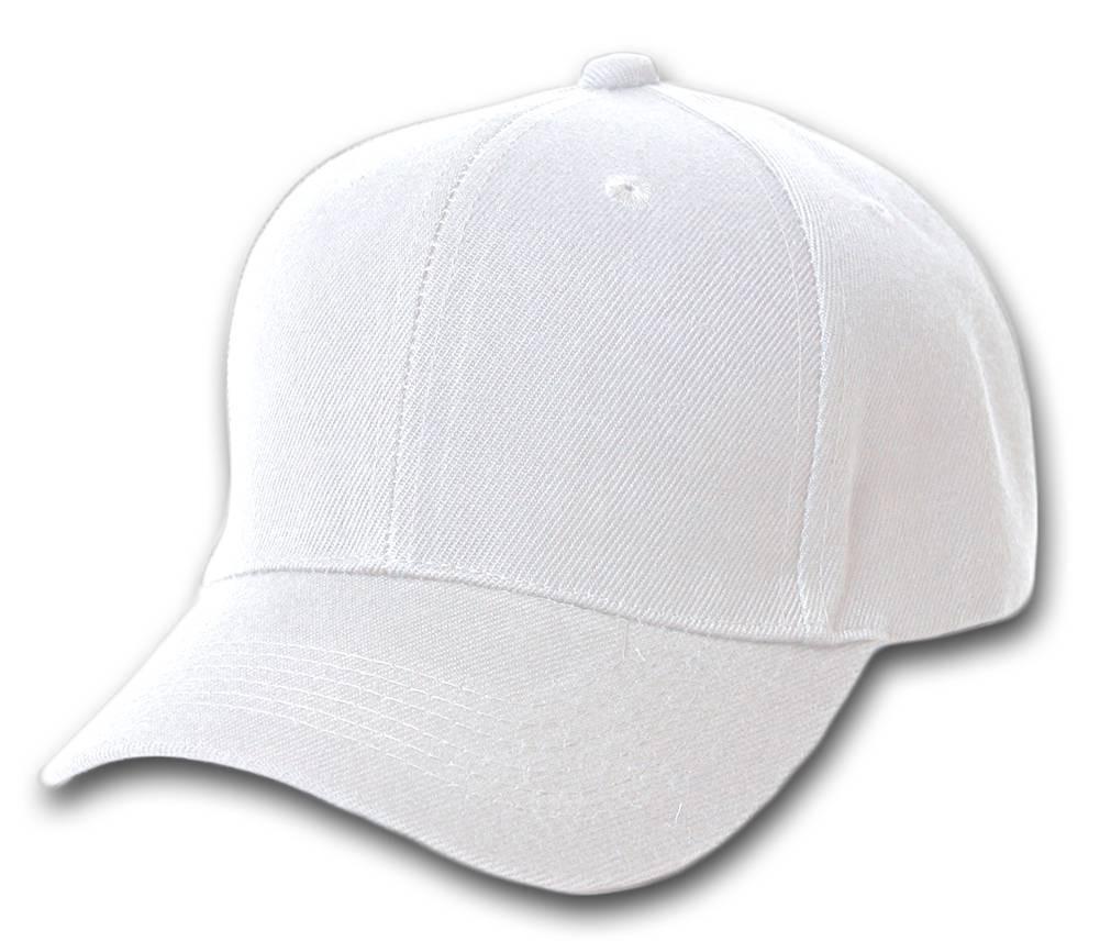 73a97a60740 12 New Magic Headwear Plain White Adjustable Closure Wholesale Hats ...