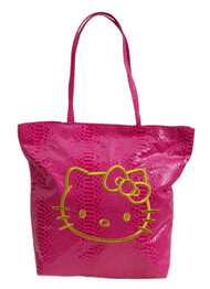 Hello Kitty Two Faced Tote Purse Bag