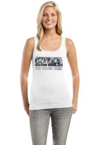 GT California The Golden State White Tank Top Shirt