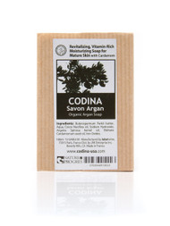 Codina Organic Argan Cardamom Soap. Vitamin Rich soap for mature skin