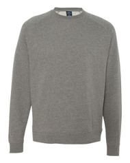 Independent Trading Co. - Fitted Raglan Crewneck Sweatshirt