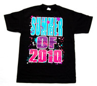 Summer of 2010 Neon Cotton T-Shirt