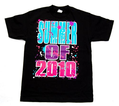 Summer of 2010 Neon Cotton T-Shirt