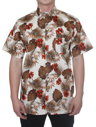 Gravity Threads Hawaiian Tropical Fashion Dress Shirt