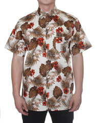 Gravity Threads Hawaiian Tropical Fashion Dress Shirt