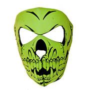 Full Face Neoprene Skull Ninja Mask - (One Size)