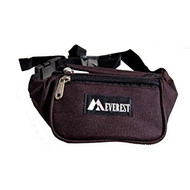Fabric Waist Pack Many Colors! (Black Regular)