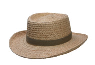 DPC Men's Gambler Hat -Natural - Large/X-Large