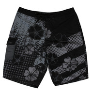 Mens High Road Black Board Shorts