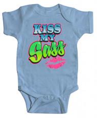 "Baby ""Kiss My Sass"" Bodysuit (Various Colors)"