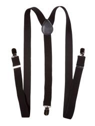 Black Terry 'Y' Suspenders