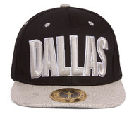 TopHeadwaer Dallas City Snapback w/ Floral Flat Bill