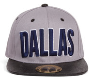 TopHeadwaer Dallas City Snapback w/ Floral Flat Bill