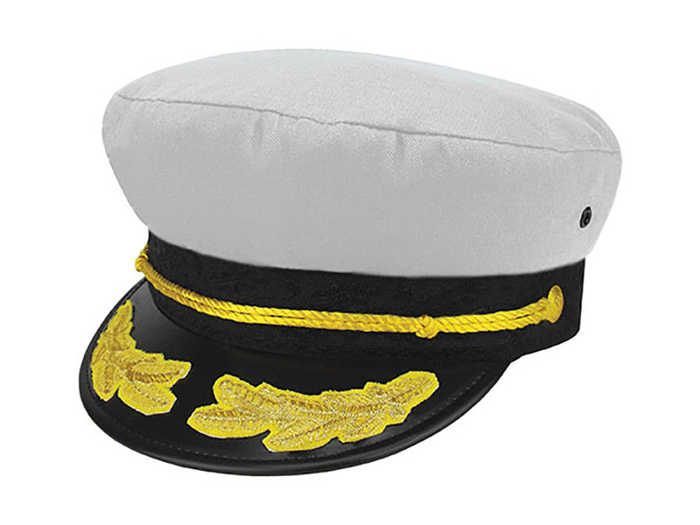 b81cd3bdad672 Top Headwear Boat Captain Hat - Gravity Trading