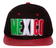 Mexico Country Snapback w/ Floral Flat Bill