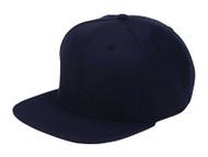 Top Headwear Wool Flat Bill Snapback Cap