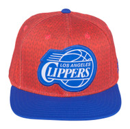 Los Angeles Clipper hat : adidas Los Angeles Clippers Christmas Day On-Court Impact Camo Snapback Hat - Red/Royal Blue