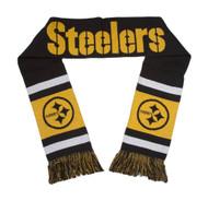 Pittsburgh Steelers Team Stripe Scarf