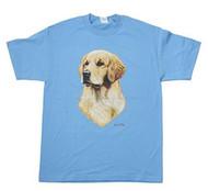 Men's Golden Retriever Print T Shirt