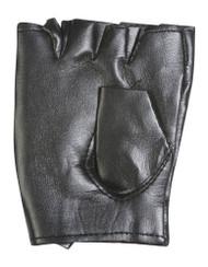 Polyester Rock Star Studded Fingerless Gloves