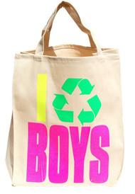 I Recycle Boys Essential Tote Bag - Black