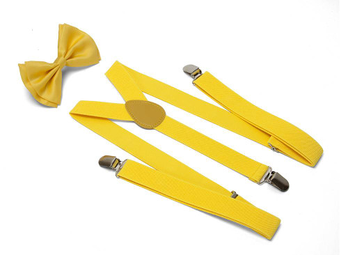 Gravity Threads Bowtie And Suspenders Combo Package