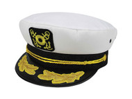 Cotton Captain Cap-Embroidered Captain
