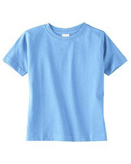 Rabbit Skins Toddler Fine Jersey Double Needle T-Shirt. 3321