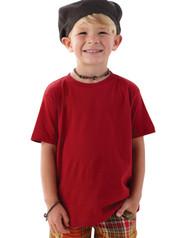 Rabbit Skins Toddler Fine Jersey Double Needle T-Shirt. 3321